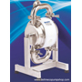 "1/2"" Dellmeco Hygienic Diaphragm Pump - DM15/30-HEE, 316 Stainless Steel/EPDM"